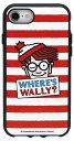ウォーリーをさがせ! IIIIfit イーフィット iPhone 8 / 7 / 6s / 6 対応 ケース  MWR-01A