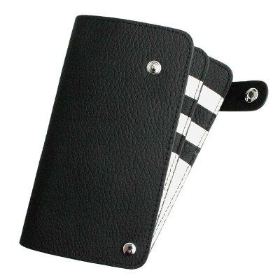 AWESOME オーサム スライドカードケース  収納 ブラック×ホワイト SCC 13