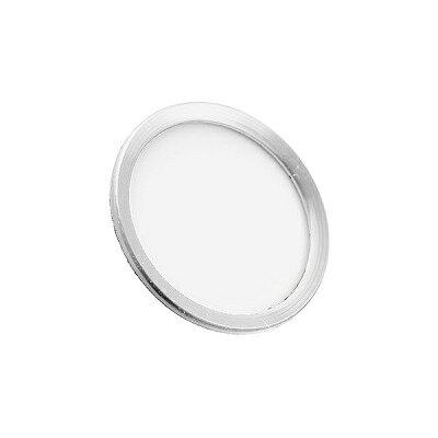 M's Select iFinger/ホームボタンシール/iPhone6・iPad mini3等対応/ホワイト&シルバー MS-IFVB-WS