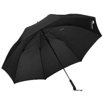 The Unbreakable/アンブレイカブル 人が乗っても壊れない 長傘 ジャンプ傘 Standard Walking-Stick Umbrella BLACK