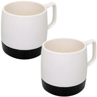 ダイネックス DINEX マグカップ 8 oz. MUG 2-TONE Set OFF WHITE BLACK