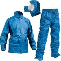 マック Makku セブン ポイント 全2色 5サイズ レインスーツ 上下 防水 2レイヤー 止水テープ アクアブルー AS-5800
