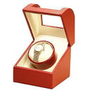 時計ビギン 腕時計王 掲載 楽チョク オシャレな丸みのあるデザイン IGIMI ウォッチワインダー 1本用 レザー調 2カラー ブロンズ