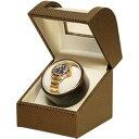イギミ ワインディングマシーン 腕時計 本用 合皮 ワインダー ブロンズ G-ZERO 105-19