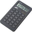 ADESSO(アデッソ) エコフレンドリー電卓 AQ-421BK ブラック