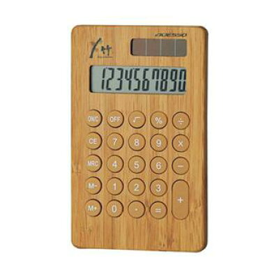 ADESSO(アデッソ) 竹の電卓 8679(1台)