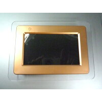 デジタルフォトフレーム DS-DA70N102 ブラウンメタリック