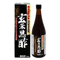 日本ヘルス 玄米黒酢 720ml