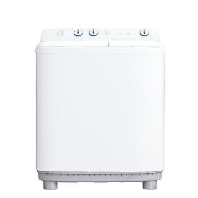 Haier 二槽式洗濯機5.5kg JW‐W55E‐W ホワイト