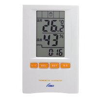 インターリンクス 時計 温度湿度計 ホワイト TH701W