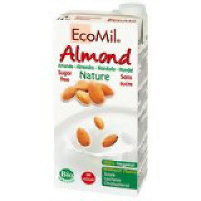 エコミル 有機アーモンドミルク ストレート 無糖(1L)