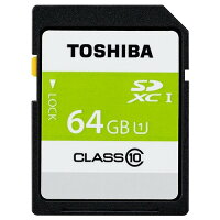 TOSHIBA SDHCメモリカード SDAR40N64G