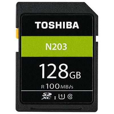 TOSHIBA  SDXCメモリーカード 128GB SD-LU128G