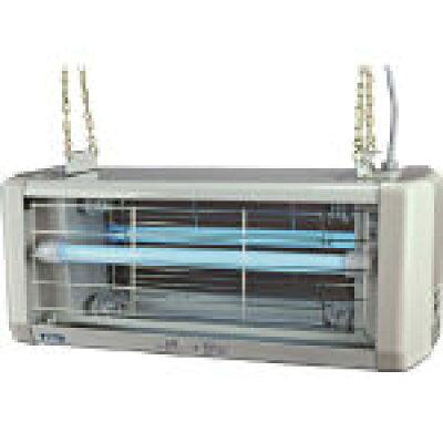 ASAHI/朝日産業 電撃殺虫器 屋外用 20W 2灯式 防水仕様 AS-020