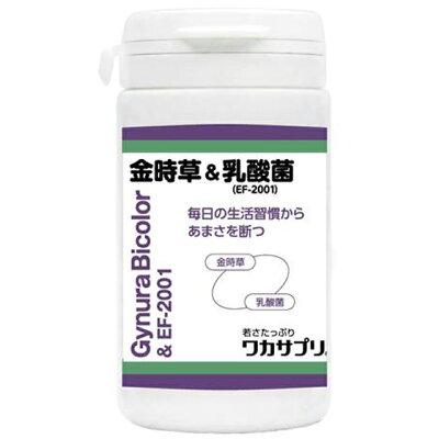 ワカサプリ 金時草&乳酸菌 EF-2001 90粒 約1ヶ月分