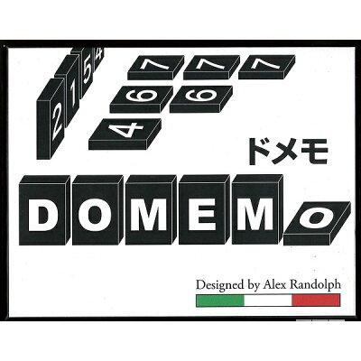 ドメモDOMEMO木製タイル版 ボードゲーム アナログゲーム テーブルゲーム ボドゲ