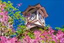 写真工房 ライラックの花咲く時計台