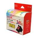 リジェットReJET キヤノンCanon用 BC-341XL FINEカートリッジ 3色カラー 大容量互換 インクEC341XL-CL