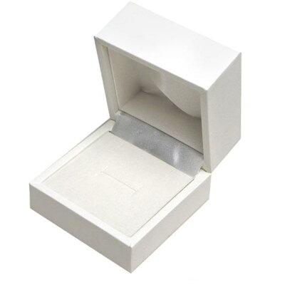 ジュエリーケース(リングケース)REP325(レザーペーパー) 白 指輪用