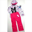ROSSIGNOL ロシニョール スキーウェア JUNIOR GIRLS SUIT ジュニア用 RLEJJST01-150 ピンク 150cm