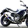 SANSEI RACING サンセイレーシング ZNIC スリップオンマフラー サイレンサー:カーボン GSX1300R 隼 08- EBL-GX72B/GX72A/CK111
