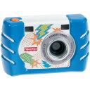 フィッシャープライス キッズ・タフ・デジタルカメラ スリム W1459 ブルー