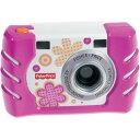 フィッシャープライス キッズ・タフ・デジタルカメラ スリム W1460 ピンク