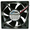 X-FAN ケースファン ブラック RDM8025Sタ