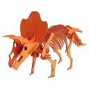 ハコモ   トリケラトプス オレンジ