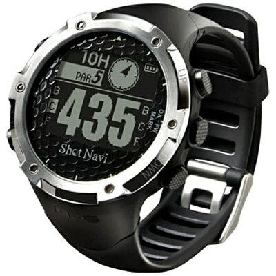 SHOT NAVI GPS ゴルフナビ ウォッチ 腕時計型 計測器 W1-FW BLACK