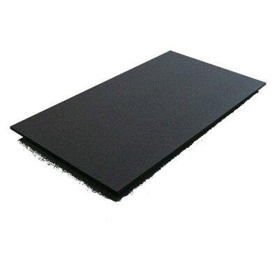 K黒まな板 K6 750×450×10 両面シボ付 PC