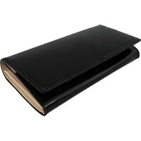 Costa Liberta 上質なコードバンを使用した高級感溢れる長財布 CORDOVAN long wallet(コードバンロングウォレット) ブラック cl004-bk
