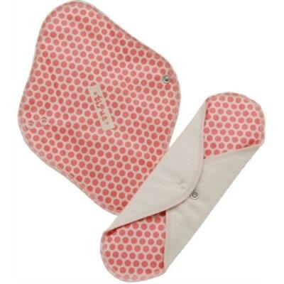 tipua(ティプア) 布ナプキン ネル レギュラー(防水シート入り) ピンク(1コ入)