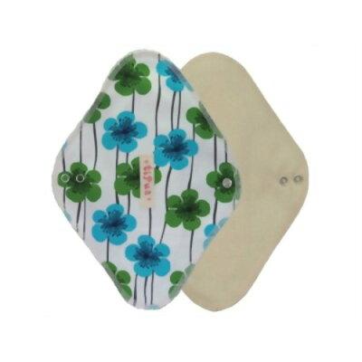 tipua(ティプア) 布ナプキン ネル レギュラー(防水シート入り) ブルーアネモネ