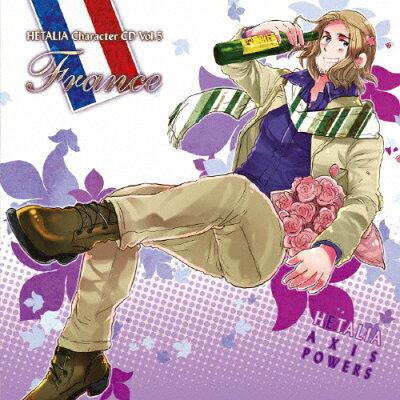 ヘタリア キャラクターCD Vol.5 フランス/CDシングル(12cm)/MFCZ-3005