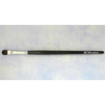 宮尾産業化粧筆(メイクブラシ) MBシリーズ ドーム型シャドウブラシ ポニー・灰リス/熊野筆