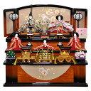 秀光人形工房 雛人形 三段 五人飾り P86102