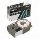 CASIO/カシオ計算機 テープカートリッジスタンダードテープ(白ラベル 黒文字) XR-24WE