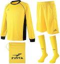 FINTA フィンタ サッカーウェアモデルジュニアキーパー FT5160イエロー