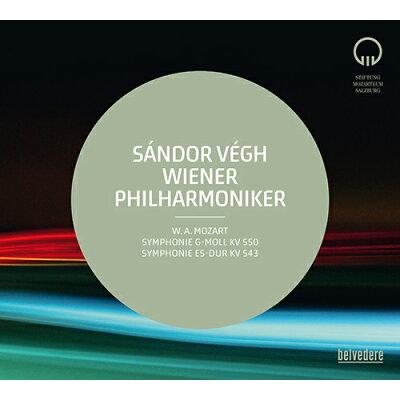 モーツァルト:交響曲第40番 KV550 & 第39番 KV543 アルバム BELVED-10147