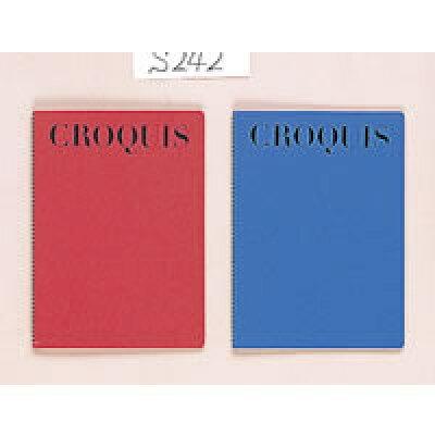 マルマン クロッキーブック クリームコットン紙 b5       ブルー s242a-02