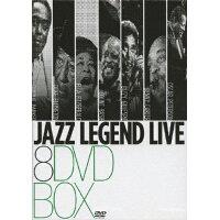 《DVD8枚組BOX》ジャズ・レジェンド・ライヴ BOX/DVD/YMBA-10169