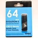 ミタ産業 TM06 64GB Gray EVOLUTION-S USB3.0対応 USB2.0でも高速 キャップを後ろに 3-2TM06-Gra64