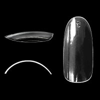 ボンネイル サンプルチップ クリアラウンドフルチップ R210 Bonnail