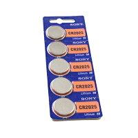 リチウムボタン電池CR2025 10P