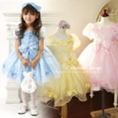 子供ドレス フォーマル レースリボン アリスプリンセスドレス 女の子