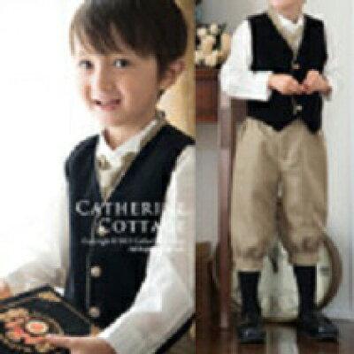 子供スーツ ニッカボッカリトルシャーロック フルセット 80-130 ベビーフォーマル 男の子