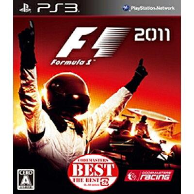 F1 2011(Codemasters THE BEST)/PS3/BLJM60544/A 全年齢対象