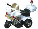 アメリカンポリス 電動子供用バイク 白バイ 耐荷重30キロ