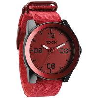 NIXONニクソン  THE CORPORAL/Red Ano ウォッチ・腕時計